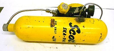 Scott Ska-pak Air Only Cylinder 23070-1 Serial No. 2458 6001