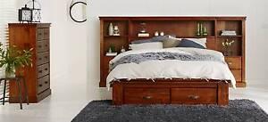 Importer Warehouse Clearance-Texas Cabin Queen Bed Mount Druitt Blacktown Area Preview