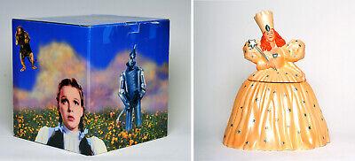 Vintage WIZARD OF OZ Glinda The Good Witch Cookie Jar w/ Box - MINT!