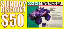 1992 REMOTE CONTROL 4WD PICK UP TRUCK BY GO Endeavour Hills Casey Area Preview