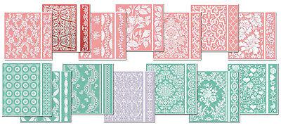 Anna Griffin Cuttlebug Embossing Folder & Border Bundle!!! GREAT PRICE!!!
