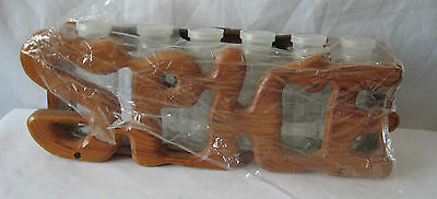 VTG 70s Block-headed Piquancy Structure & 6 Field-glasses JARS GROOVY Tribe/POP KITCHEN Brand new Hipster