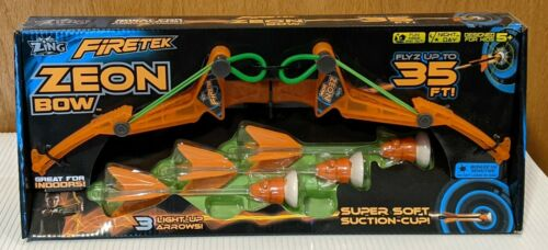 FT811-0 - Firetek Zeon Bow, by Zing, Ozwest - With Light-up Arrows - Ages 5+