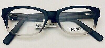 TREND OPTICAL PRESCRIPTION GRADE EYEGLASS FRAME BLACK UNISEX VISION CLEAR (Clear Eyeglass Frames Trend)