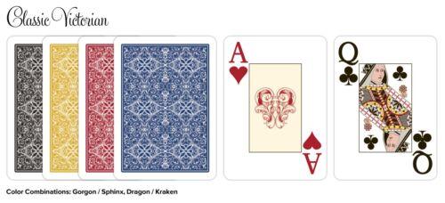 Desjgn 100% Plastic Playing Cards, Poker Size / Jumbo Index New 1 Set