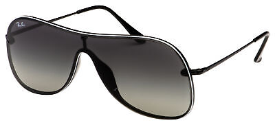 Ray-Ban Sunglasses RB 4311N 629911 38 White / Black | Grey Gradient (White Rayban Sunglasses)