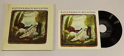 """Rainer Kirsch . Reglindis. Lieder. Buch inkl. 7"""" Schallplatte Single EA 1979"""