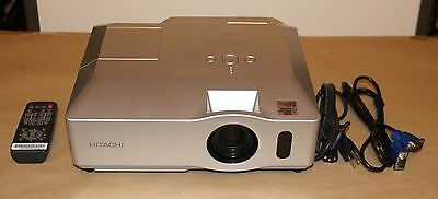 Hitachi CP-X306 3LCD Home Theatre Projector 2600 ANSI Lumens.New Lamp Installed
