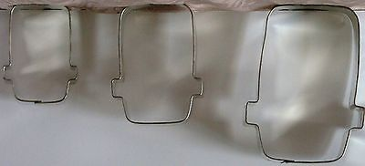 FRANKENSTEIN Monster HEAD New HALLOWEEN Cookie Cutter METAL 2.5