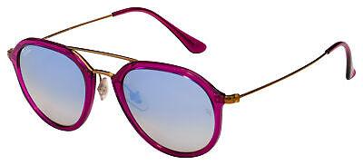 Ray-Ban Sunglasses RB 4253 62359U 50 Purple/Bronze | Silver Mirror Brown (Ray Ban Brown Mirror)