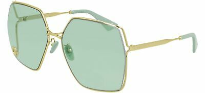 Gucci GG0817S Gold/Green 65/17/140 women Sunglasses