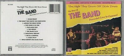 THE BAND-The Night They Drove Old Dixie Down: The Best of Live in Concert CD