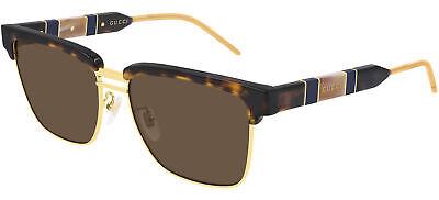 Gafas de Sol Gucci GG0603S Gold/Silver 56/16/145 para hombre