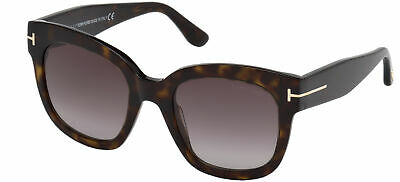 Tom Ford BEATRIX-02 FT 0613 Havana/Burgundy Shaded 52/22/140 women Sunglasses