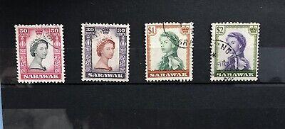 Sarawak Stamps Queen Elizabeth