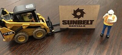 1/50 Custom Sunbelt Rentals Dealership Sign - Custome Rentals