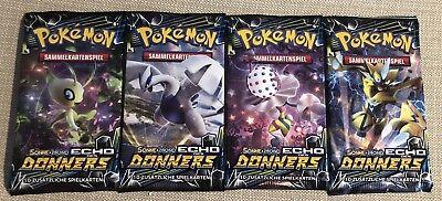 1 Pokemon Booster Pack Sonne & Mond 8 *Echo des Donners* in deutsch  NEU & OVP