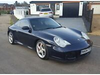 2004 Porsche 996 Carrera C4S Widebody, FSH, Sat nav, Finance Available, P/X & Credit Cards Welcome