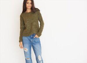 GARAGE fluffy textured sweater