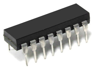 MOTOROLA MC14519CP 4 BIT AND OR OR QUAD 2 CHANNEL DATA SELECTOR IC DIP 16 15V