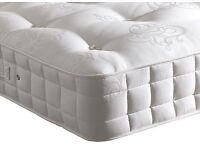 Double Myers Pocket Sprung Mattress As New