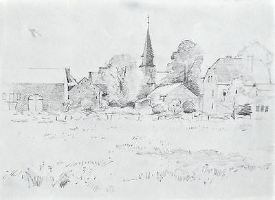 Sonja Wüsten - o. T. - Bleistiftzeichnung - o. J. - 119