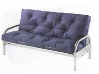 Large metal double sofa bed