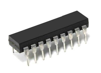 MOTOROLA MC145145P1 4 BIT DATA BUS INPUT PLL FREQUENCY SYNTHESIZER 9V IC DIP 18