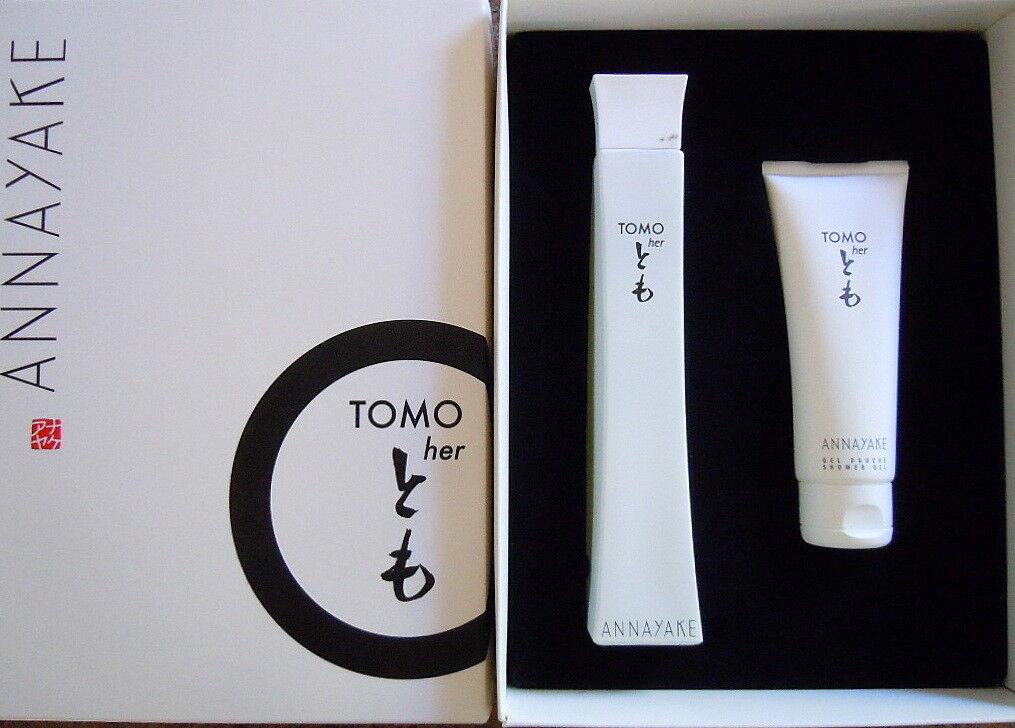 Annayake TOMO Her SET 100ml Eau de Parfum+ 75ml Duschgel  GESCHENKSET NEU & OVP