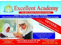 Maths, English & Science Tuition Islington KS1 KS2, KS3, GCSE and A level. From £6 an Hour.
