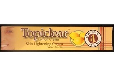 Topiclear Lemon Cream Skin Lightening Cream 1.76oz /50g FREE SHIPPING