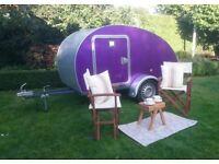 Teardrop caravan, IVA road legal, teardrop trailer