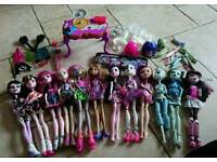 Large monster High bundle