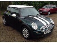 Mini Cooper 1.6 immaculate condition.11 Mnths MOT.Dual Fuel .Runs on petrol or LPG.Very economical.