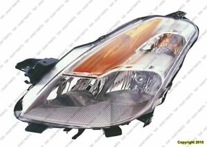 Head Lamp Driver Side Hid Coupe High Quality Nissan ALTIMA 2008-2009