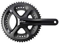 Shimano 105 FC5800 compact double chainset crank
