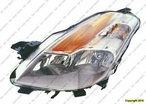 Head Light Driver Side Coupe Nissan ALTIMA 2008-2009