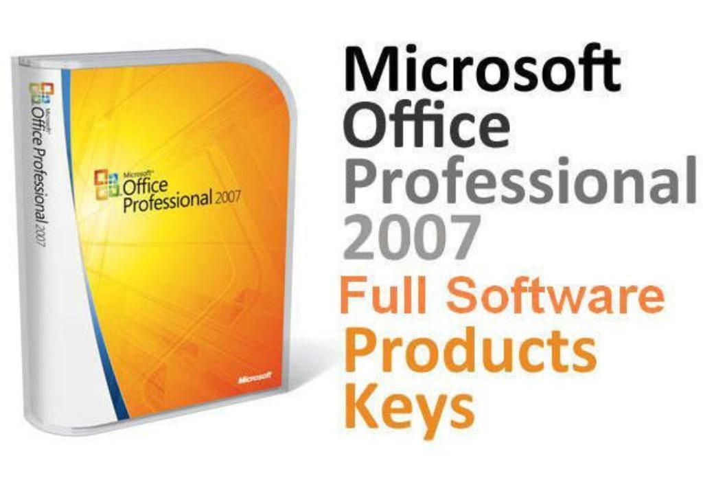 microsoft office 2007 professional full version
