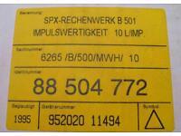 SPX Pollux Wärmezähler Rechenwerk B 501 Berlin - Pankow Vorschau