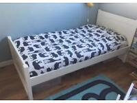 White Single bed from mothercare