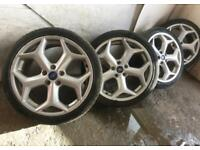 """18"""" Genuine Ford focus ST alloy wheels fit connect and kuga mondeo"""