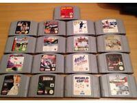 Selection of Nintendo 64 (N64) Games