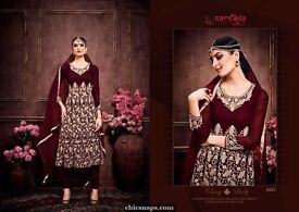 wholesale designer heavy salwar suit collection