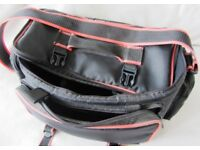 LARGE PULLMAN CAMERA BAG in GOOD CONDITION - EXTERNALLY APPROX 16 x 10 x 8 INCHES £5