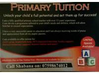 Affordable Primary Tuition