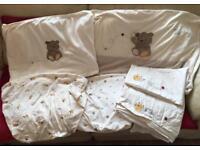Mothercare Precious Bear Baby Cot Bedding Set