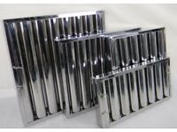Canopy Filters Stainless Steel Baffle Filter 445Hx445Wx48mm