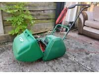 Suffolk punch electric lawnmower