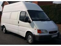 FORD TRANSIT MK5 SMILEY, 79K , 12 MOT, LWB , HI ROOF. 2.5 DIESEL BANANA ENGINE