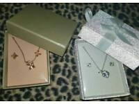2 sets necklace and earrings new